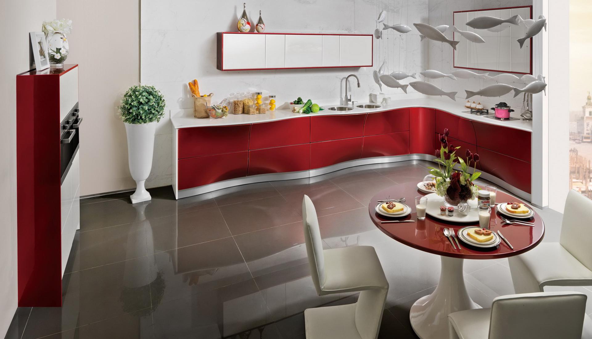 Muebles cocina dos colores 20170813175427 for Colores para gabinetes de cocina