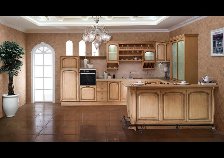 Cocinas color madera clara simple zuordnung stil cocinas - Cocinas madera clara ...