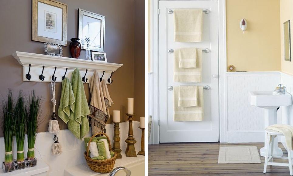 Soluciones de almacenamiento para el ba o casabella for Colgar toallas ducha